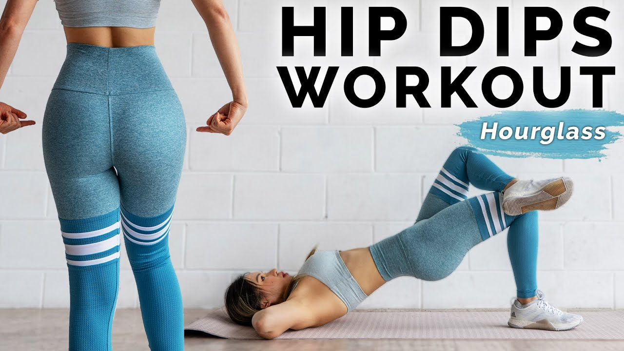 Hips Dips Workout | 10 Min Side Booty Exercises ???? At Home Hourglass Challenge