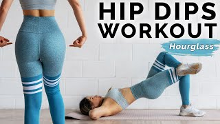 Hips Dips Workout | 10 Min Side Booty Exercises 🍑 At Home Hourglass Challenge