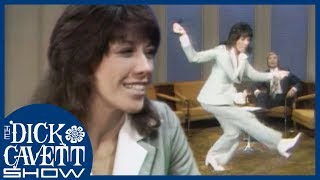 Lily Tomlin Shows Off Her Cheerleading Skills   The Dick Cavett Show