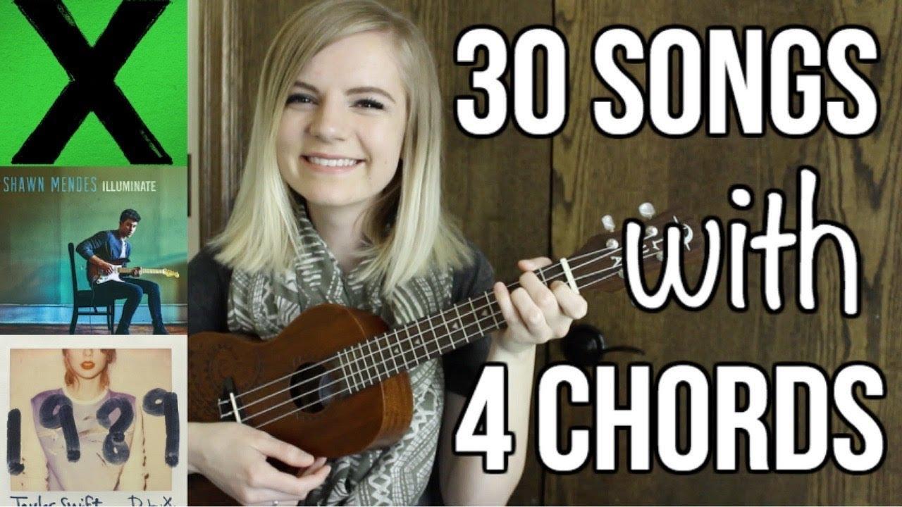 4 basic chords 30 songs on ukulele youtube 4 basic chords 30 songs on ukulele hexwebz Gallery