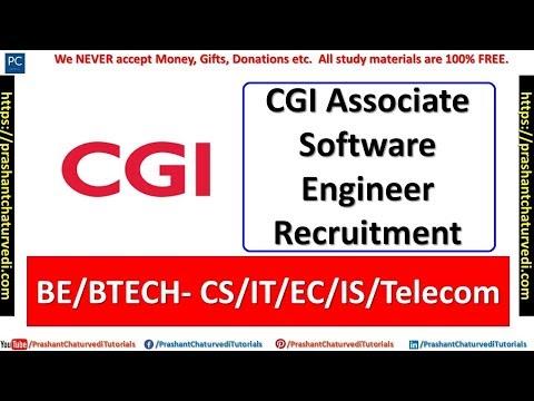 CGI Associate Software Engineer Recruitment || CS/IT/EC/Telecom || Apply Now