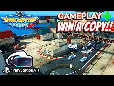 Mini Motor Racing X PS4 & PSVR Gameplay + Giveaway
