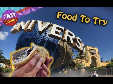 Food At Universal Orlando | Universal Studios | Food To Try