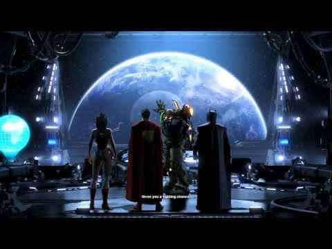 Justice League vs DC Villains - Justice League Movie - Cinematic Vision W/ DC Universe Online - HD
