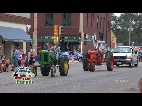 Central Kansas Free Fair Parade 2019