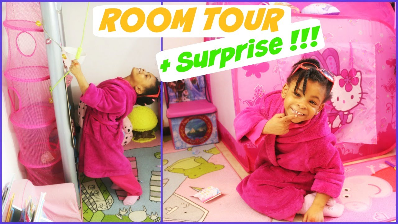 Room Tour La Chambre De Maë Surprise Disney Princesses