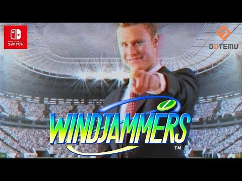 Windjammers is available today on Nintendo Switch