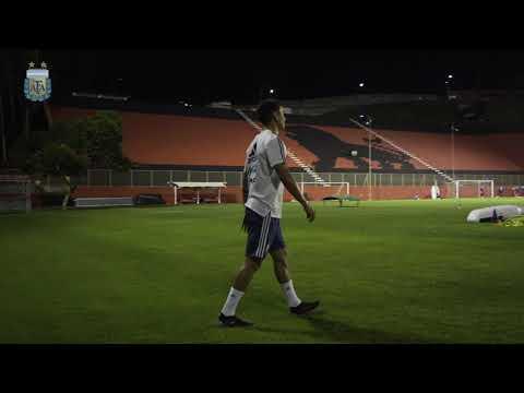 #SelecciónMayor Trabajos previos al partido contra Colombia