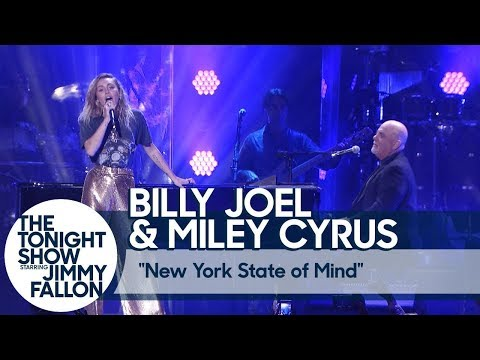 Miley Cyrus & Billy Joel - New York State of Mind (Live at Madison Square Garden)