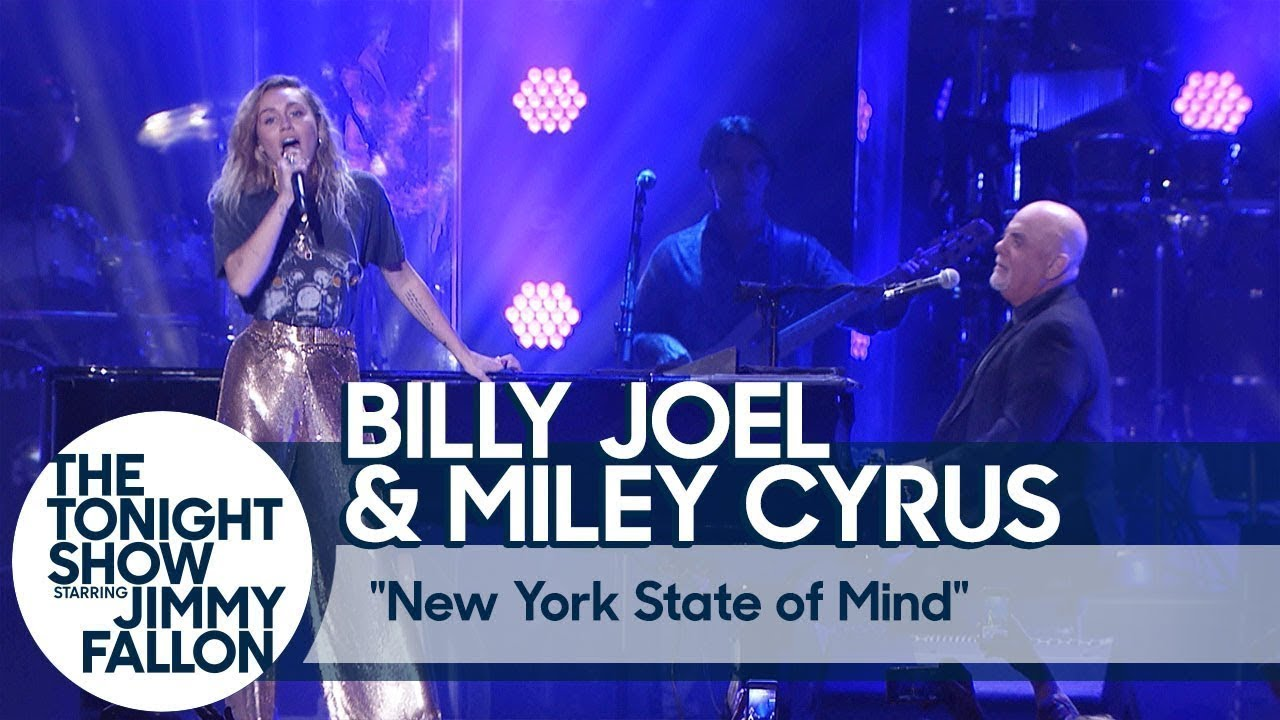 Miley cyrus billy joel new york state of mind live at - Billy joel madison square garden february 21 ...