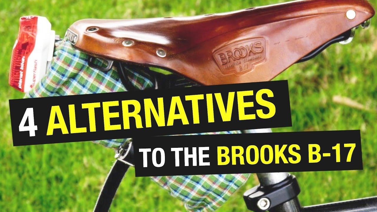 ff2c5455cf 4 Brooks B-17 Saddle Alternatives - YouTube