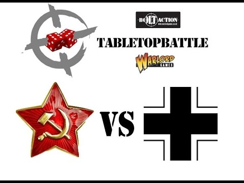 """Bolt Action 2nd ed battle report #17 (1/3) - 1943: KURSK """"The largest tank battle in history"""""""