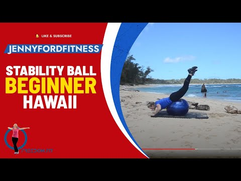 Stability Exercise Ball Workout 33 Minute Express Physioball Exercise Routine
