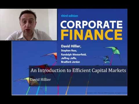 An Introduction to Efficient Capital Markets