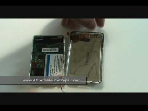 Tutorial - iPod 3rd Gen Generation Hard Drive, Battery, LCD Replacement