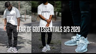 FEAR OF GOD ESSEΝTIALS S/S 2020 (REVIEW/PICKUPS)