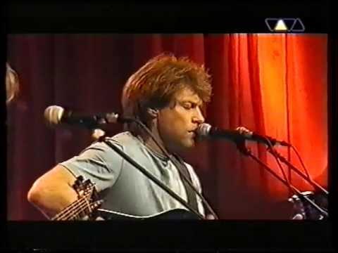 Bon Jovi - Just Older (Hamburg 2001) Acoustic