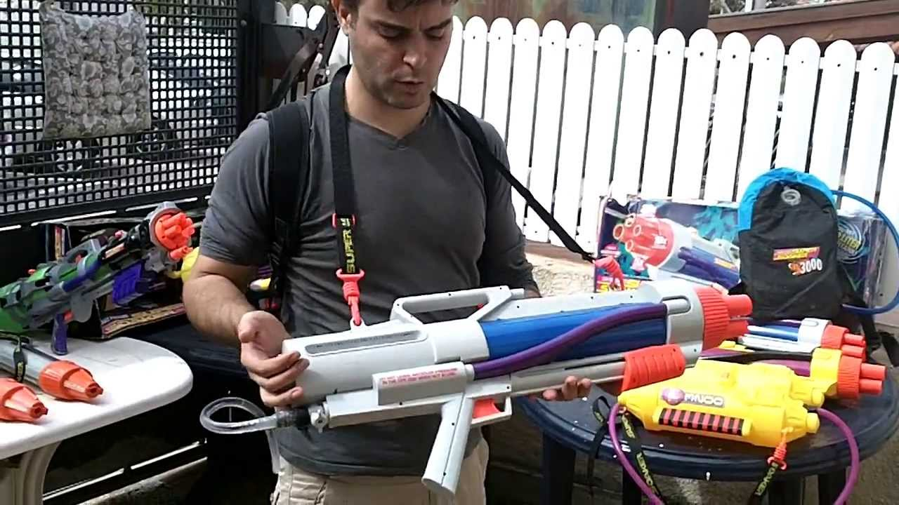Pistola de agua mas poderosa del mundo, Dueño millonario