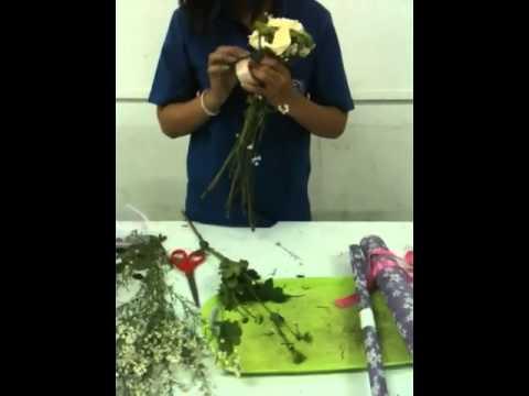 Eco-korat การจัดช่อดอกไม้