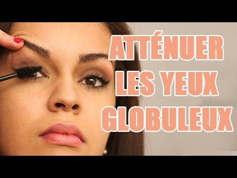 comment cacher des yeux globuleux avec du maquillage correctif youtube. Black Bedroom Furniture Sets. Home Design Ideas