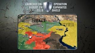 "Операция Турции ""Щит Евфрата"" в Сирии: цели, успехи и итоги. Русский перевод."