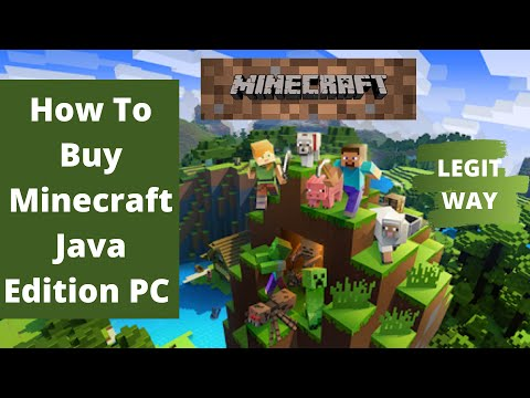 How To Buy Minecraft Java Edition PC - LEGIT WAY