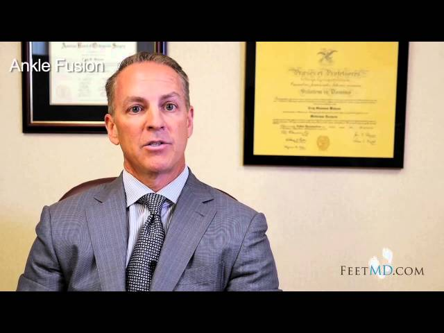 Ankle Fusion vs. Ankle Replacement - Dr. Troy Watson