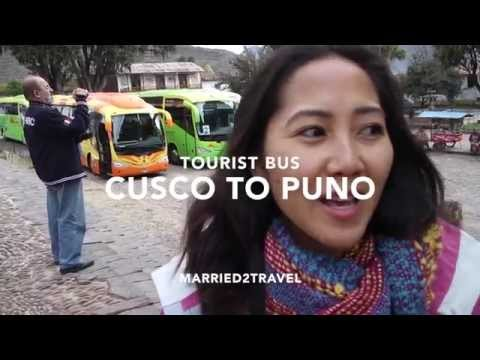 Inka Express Tourist Bus from Cusco to Puno