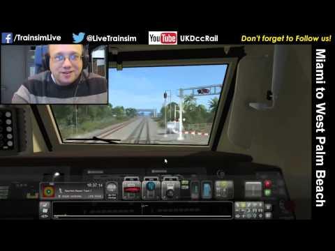 Train Simulator 2015 - Miami to West Palm Beach