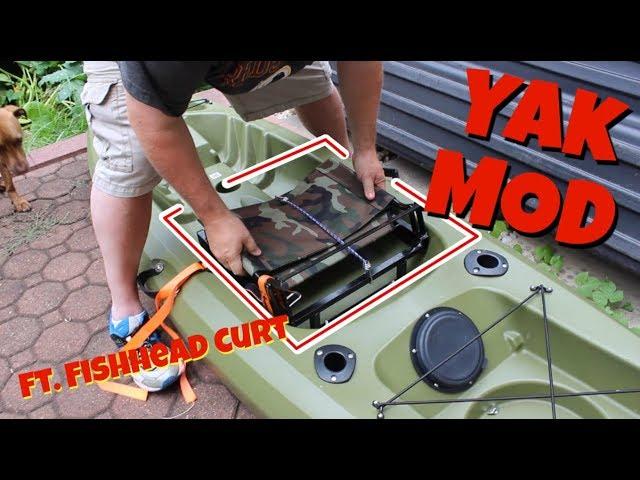 Kayak MODIFICATION! Simple Changes, BIG Improvement