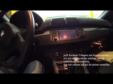 BMW X5 2006 IPhone bluetooth verbinden