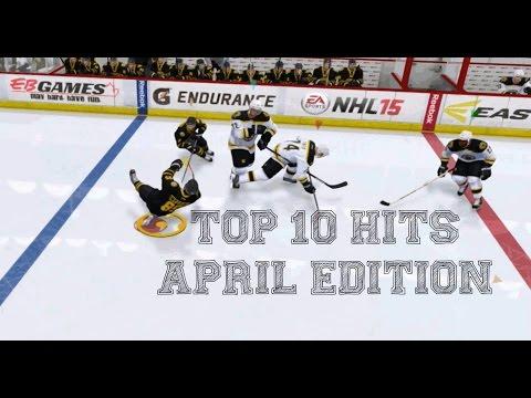 NHL 15 - Top 10 Hits - April Edition