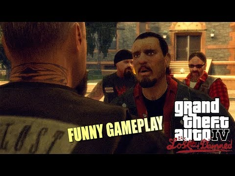 FUNNY GTA 4: THE LAST AND DAMNED STORYMODE GAMEPLAY #1