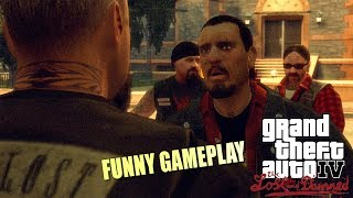 """FUNNY """"GTA 4: THE LAST AND DAMNED"""" STORYMODE GAMEPLAY #1"""