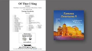 Editions Marc Reift – Of Thee I Sing Overture - for Concert Band