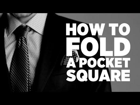 how to fold a pocket square watch v bjaw3zg2yzy