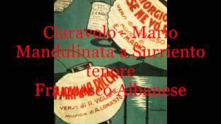 Mandulinata a Surriento (E.A.Mario - G. Ciaravolo)   tenore Francesco Albanese