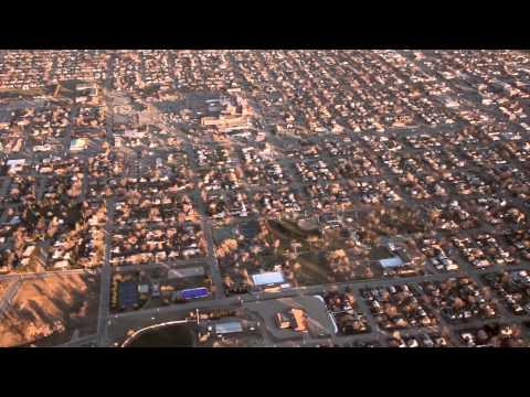 Airplane Flight Over Kearney, Nebraska - January 2, 2012