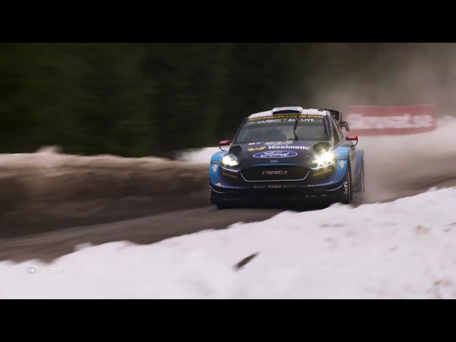 WRC - Rally Sweden 2019/ M-Sport Ford WRT: Sunday Highlights