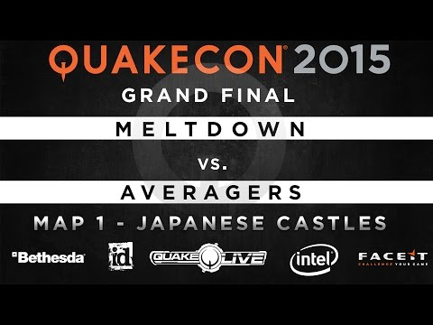 Meltdown Vs. Averagers - Map 1 - Japanese Castles (QUAKECON 2015 CTF)