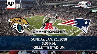 2018 AFC Championship Game: Patriots vs. Jaguars Highlights