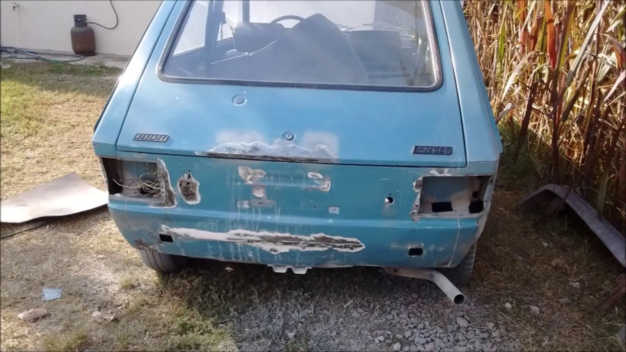 Restauracion Fiat 147 Parte 1 Awesome Vehicle Restoration