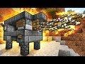 САМАЯ КРУТАЯ ПУШКА в Майнкрафт ПЕ Редстоун механизм для нуба видео мультик нуб и про в Minecraft PE