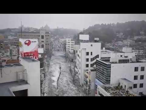Tsunami IN  SHIOGAMA CITY  JAPAN 2011 MARCH