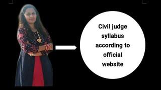 M.P Civil Judge Preparation