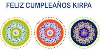 Kirpa   Indian Designs - Happy Birthday