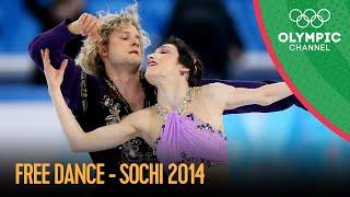 Figure Skating  Ice Dancing  Free Dance | Sochi 2014 Replays