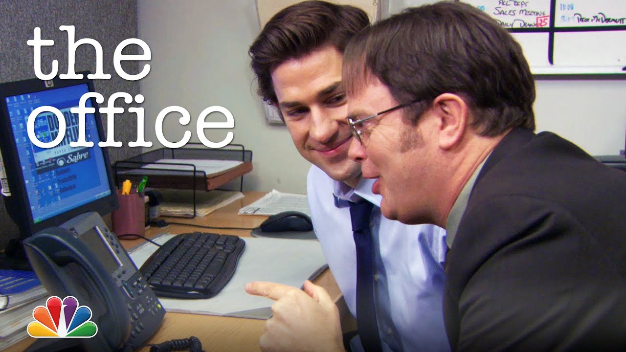 Jim and Dwight Prank Todd Packer - The Office