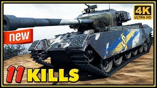 Primo Victoria - 11 Kills - World of Tanks Gameplay - 4K Video