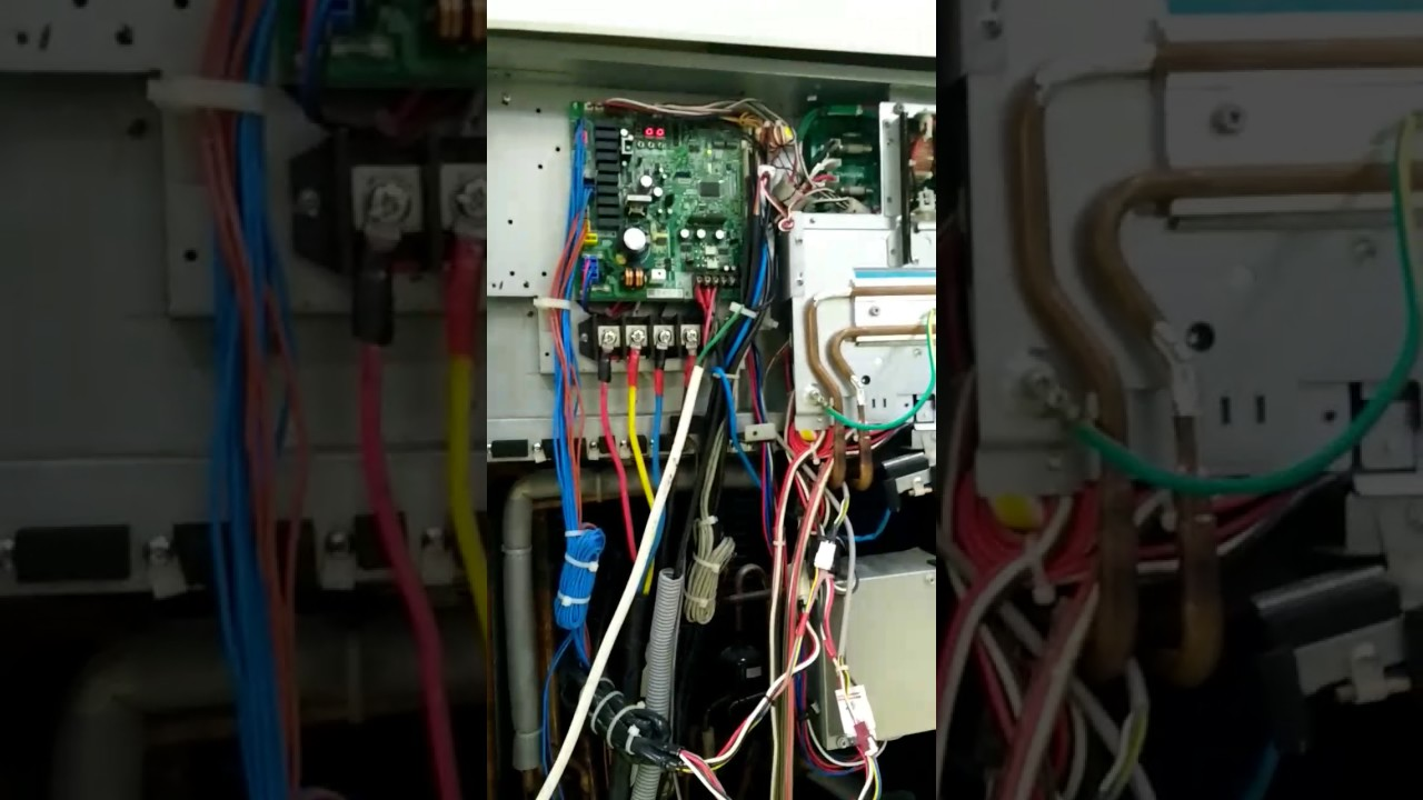 Heavy Duty Fan >> Daikin VRV 4 how to check IDUs in ODU pcb - YouTube